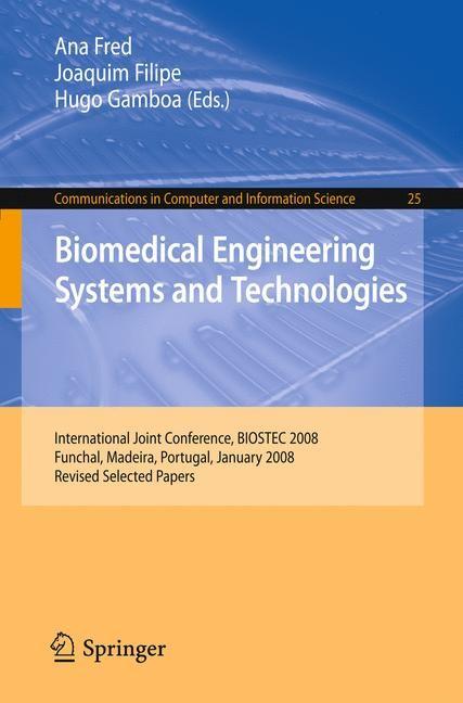 Abbildung von Fred / Filipe / Gamboa | Biomedical Engineering Systems and Technologies | 2008