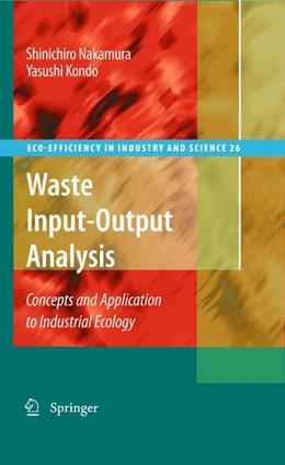 Abbildung von Nakamura / Kondo | Waste Input-Output Analysis | 2009 | Concepts and Application to In... | 26