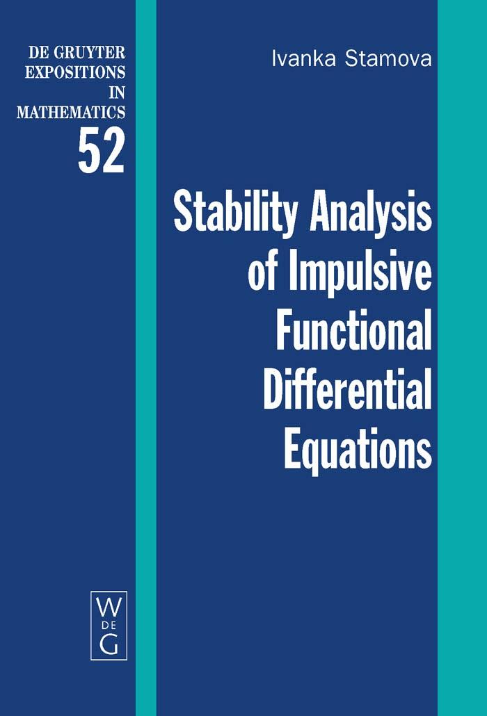 Abbildung von Stamova | Stability Analysis of Impulsive Functional Differential Equations | 2009