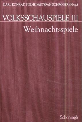 Abbildung von Polheim / Schröder | Volksschauspiele. Band 1 bis Band 5 in Kassette / Weihnachtsspiele | 2000
