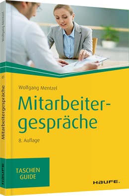 Abbildung von Mentzel   Mitarbeitergespräche   8. Auflage 2020   2020