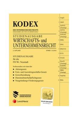 Abbildung von Doralt | KODEX Wirtschafts- und Unternehmensrecht 2019/20 | 2. Auflage | 2019 | Studienausgabe der FH Wr. Neus...