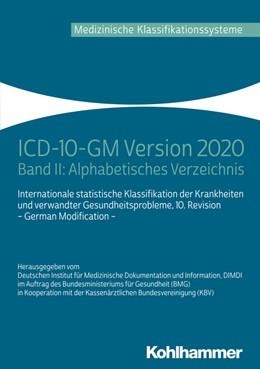 Abbildung von ICD-10-GM Version 2020 | 1. Auflage | 2019 | beck-shop.de