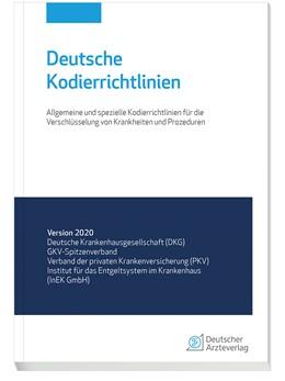 Abbildung von Deutsche Kodierrichtlinien 2020 | 1. Auflage | 2019 | beck-shop.de