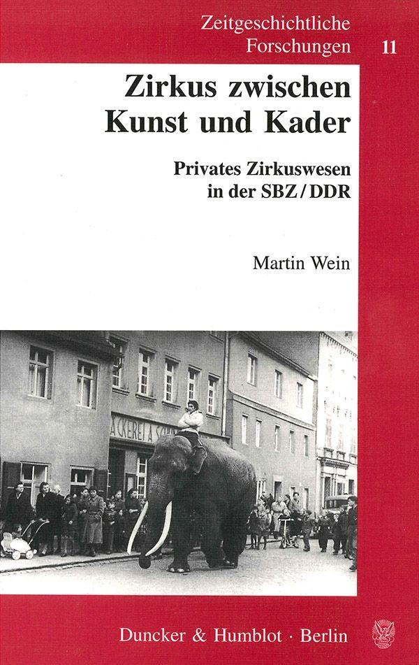 Abbildung von Wein | Zirkus zwischen Kunst und Kader. | 2001