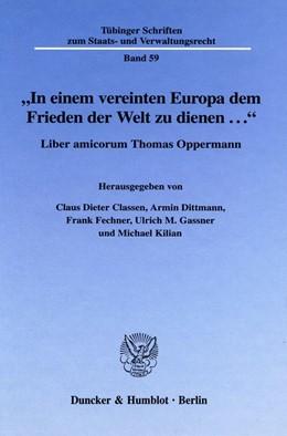 Abbildung von Classen / Dittmann / Fechner / Gassner / Kilian |