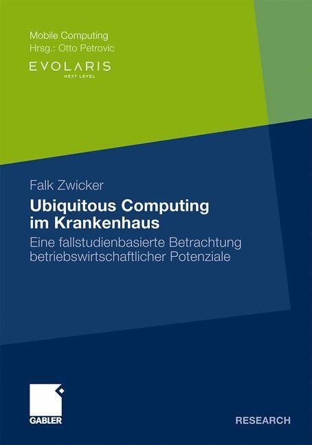 Abbildung von Zwicker | Ubiquitous Computing im Krankenhaus | 2009