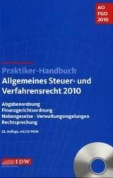 Abbildung von IDW (Hrsg.)   Praktiker-Handbuch Allgemeines Steuer- und Verfahrensrecht 2010   22. Auflage   2010