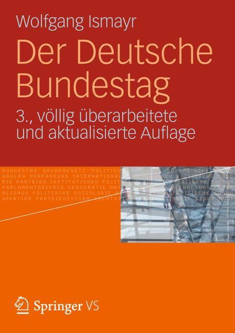 Abbildung von Ismayr | Der Deutsche Bundestag | 3. Aufl. 2012 | 2012