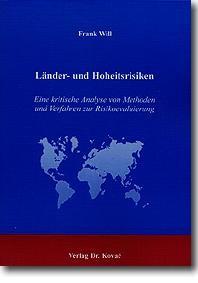 Abbildung von Will | Länder- und Hoheitsrisiken | 2001