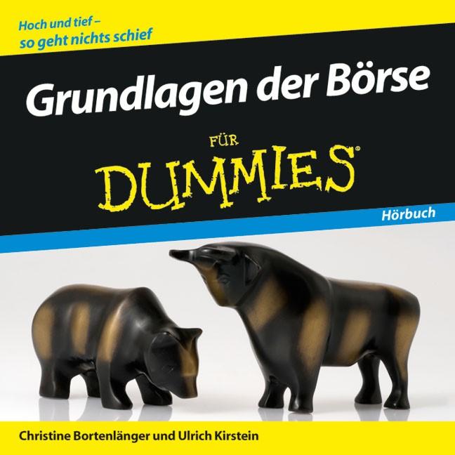Grundlagen der Börse für Dummies Hörbuch   Bortenlänger / Kirstein, 2008 (Cover)