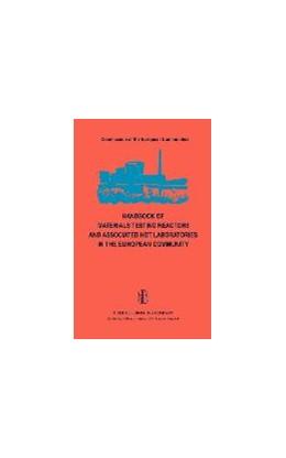 Abbildung von von der Hardt / Röttger | Handbook of Materials Testing Reactors and Associated Hot Laboratories in the European Community | 1981 | Nuclear Science and Technology