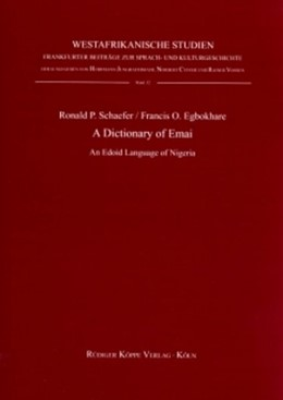 Abbildung von Egbokhare / Schaefer | A Dictionary of Emai | 2007 | An Edoid Language of Nigeria. ... | 32