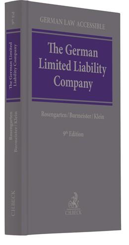 Abbildung von Rosengarten / Burmeister | The German Limited Liability Company | 9. Auflage | 2020 | beck-shop.de