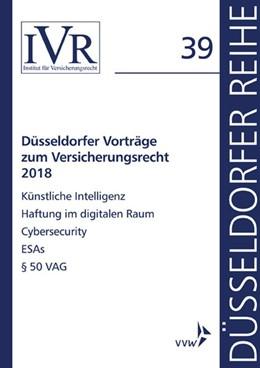Abbildung von Düsseldorfer Vorträge zum Versicherungsrecht 2018 | 1. Auflage | 2019 | beck-shop.de