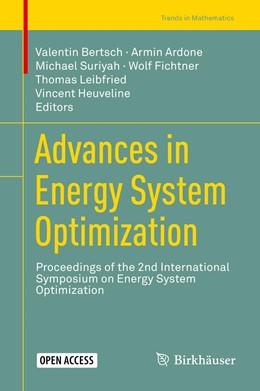 Abbildung von Bertsch / Ardone | Advances in Energy System Optimization | 1. Auflage | 2019 | beck-shop.de