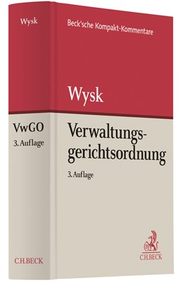 Abbildung von Wysk | Verwaltungsgerichtsordnung: VwGO | 3. Auflage | 2020