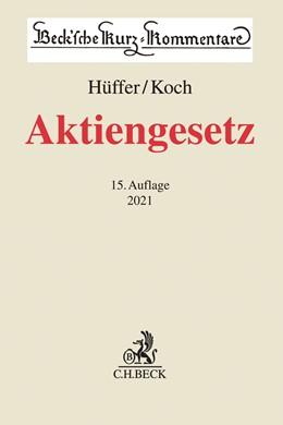 Abbildung von Hüffer / Koch | Aktiengesetz: AktG | 14. Auflage | 2020 | Band 53