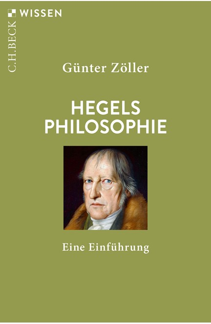 Cover: Günter Zöller, Hegels Philosophie
