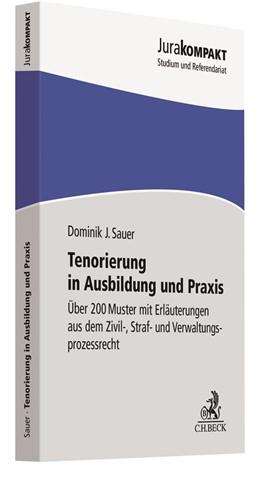 Abbildung von Sauer   Tenorierung in Ausbildung und Praxis   2020   Über 200 Muster mit Erläuterun...