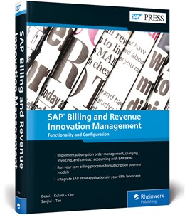 Abbildung von Balasubramanian / Desai   SAP Billing and Revenue Innovation Management   1. Auflage   2020   beck-shop.de