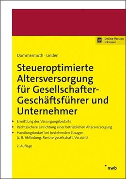 Abbildung von Dommermuth / Linden   Altersversorgung für Unternehmer und Geschäftsführer   2., überarbeitete Auflage   2020