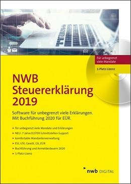 Abbildung von NWB Steuererklärung 2019 - 1-Platz-Version | 2019 | Software für unbegrenzt viele ...