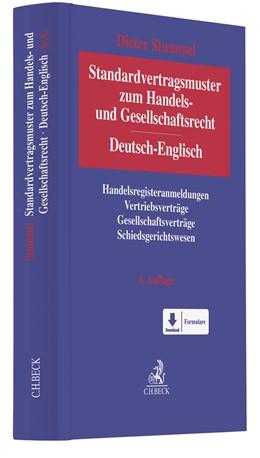 Abbildung von Stummel   Standardvertragsmuster zum Handels- und Gesellschaftsrecht = German-English Standard Forms and Agreements in Company and Commercial Law   6. Auflage   2021   beck-shop.de