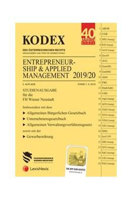 Abbildung von Doralt | KODEX Entrepreneurship & Applied Management 2019/20 | 2. Auflage | 2019 | Studienausgabe für die FH Wr. ...