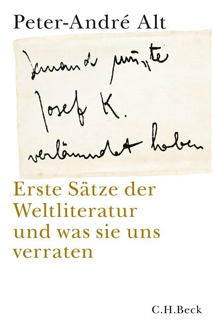 Cover: Peter-André Alt, 'Jemand musste Josef K. verleumdet haben ?'