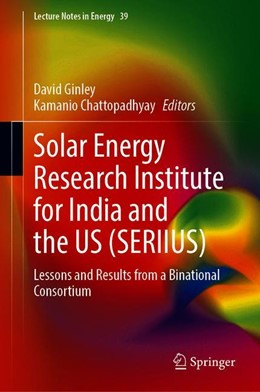 Abbildung von Ginley / Chattopadhyay | Solar Energy Research Institute for India and the US (SERIIUS) | 1st ed. 2020 | 2020 | Lessons and Results from a Bin... | 39