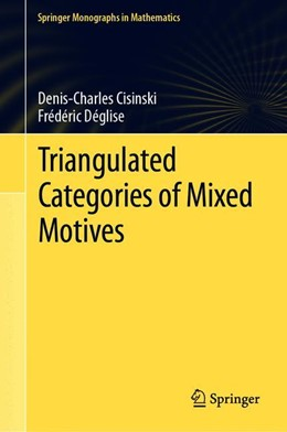 Abbildung von Cisinski / Déglise | Triangulated Categories of Mixed Motives | 1st ed. 2019 | 2019