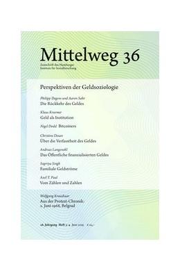 Abbildung von Sahr / Degens | Perspektiven der Geldsoziologie | 1. Auflage | 2019 | beck-shop.de