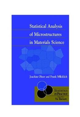Abbildung von Ohser / Mücklich | Statistical Analysis of Microstructures in Materials Science | 2000