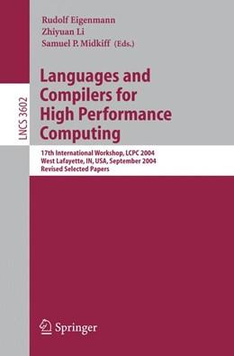 Abbildung von Eigenmann / Li / Midkiff | Languages and Compilers for High Performance Computing | 2005 | 17th International Workshop, L...