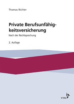 Abbildung von Richter | Private Berufsunfähigkeitsversicherung | 2. Auflage | 2019 | beck-shop.de