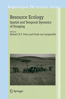 Abbildung von Prins / van Langevelde | Resource Ecology | 2008 | Spatial and Temporal Dynamics ... | 23