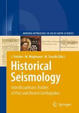 Abbildung von Fréchet / Meghraoui / Stucchi   Historical Seismology   2008   Interdisciplinary Studies of P...   2