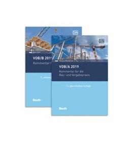 Abbildung von Diehr / Mestwerdt   VOB/A + VOB/B 2019   Ausgabe mit 2 Bänden   2019   Kommentare für die Bau- und Ve...