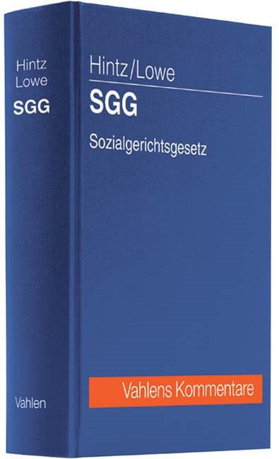 SGG Sozialgerichtsgesetz | Hintz / Lowe, 2012 | Buch (Cover)