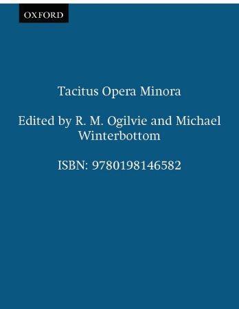 Abbildung von Winterbottom / Ogilvie | Tacitus Opera Minora | 2008