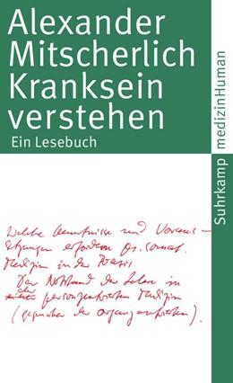 Abbildung von Mitscherlich / Hoyer | Kranksein verstehen | Originalausgabe | 2010 | Ein Lesebuch | 4151