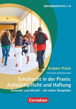 Abbildung von Rademacher | Schulrecht in der Praxis: Aufsichtspflicht und Haftung | 1. Auflage | 2020 | beck-shop.de