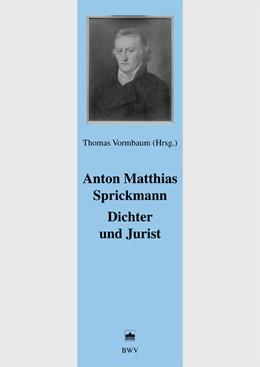 Abbildung von Vormbaum | Anton Matthias Sprickmann Dichter und Jurist | 1. Auflage 2006 | 2006 | Eulalia (Schauspiel 1777). Ueb... | 23