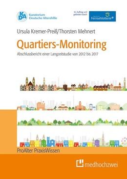 Abbildung von Kremer-Preiß / Mehnert | Quartiers-Monitoring | 1. Auflage | 2019 | Abschlussbericht der Langzeits...