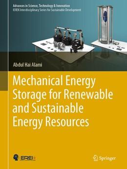 Abbildung von Alami | Mechanical Energy Storage for Renewable and Sustainable Energy Resources | 1. Auflage | 2020 | beck-shop.de