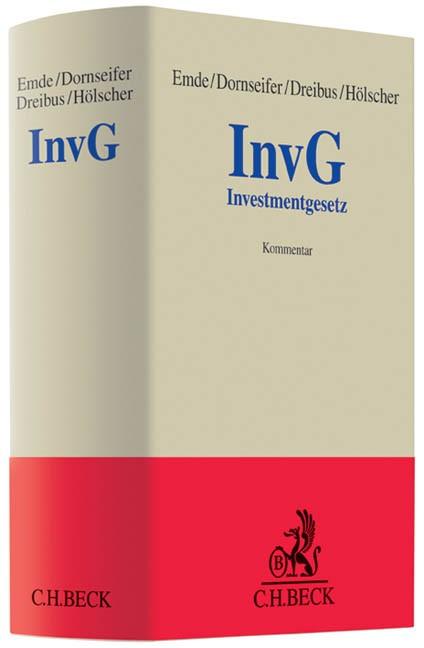 Investmentgesetz | Emde / Dornseifer / Dreibus / Hölscher | Buch (Cover)