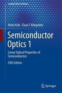 Abbildung von Kalt / Klingshirn | Semiconductor Optics 1 | 5th ed. 2019 | 2019 | Linear Optical Properties of S...