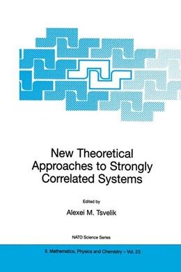 Abbildung von Tsvelik | New Theoretical Approaches to Strongly Correlated Systems | 1. Auflage | 2001 | 23 | beck-shop.de