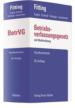 Abbildung von Fitting / Engels / Schmidt / Trebinger / Linsenmaier | Betriebsverfassungsgesetz: BetrVG | 30. Auflage | 2020
